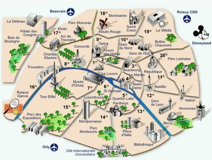 Cartina Politica Di Parigi.Parigi 15 Motivi Per Cui Amarla Alla Follia Food For Dummies